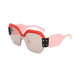 GIRL Semi Rimless Sunglasses For Women Trendy